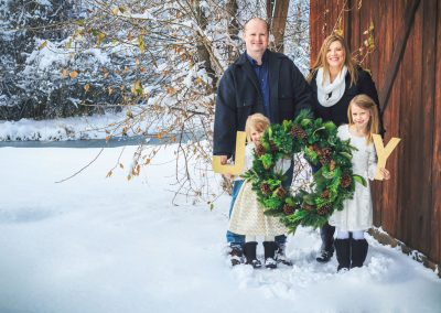 Schug Bozeman Holiday Family Photography